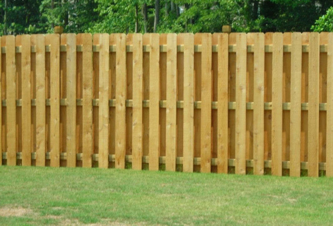 Grand Prairie Wood Fence Installation