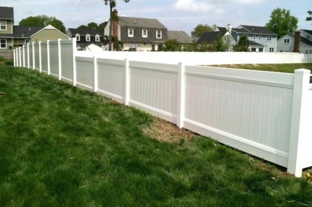 PVC Fence Installation in Grand Prairie, Texas